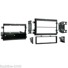 CT24FD39 FORD EDGE 2007 to 2008 BLACK SINGLE OR DOUBLE DIN FASCIA ADAPTER