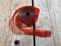 VINTAGE MUSCLE BIKE METAL FLAKE BARTAPE RED METAL FLAKES MADE IN JAPAN NOS NIB