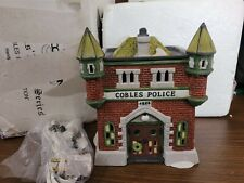 New ListingDept 56 Dickens Village Series - 1989 Cobles Police Station 55832 Retired 1991