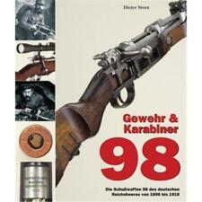 Rifle & mosquetón 98-las armas de fuego de 98 alemanes reichsheeres 1898 - 1918