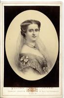 Charles Jacotin, La reine de Grèce Olga Constantinovna de Russie  Vintage albume