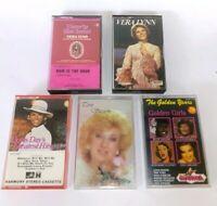 Vintage Cassette Tapes - Vera Lynn / Doris Day / Coni Stevens / Judy Garland