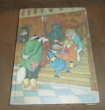 """""""Wind In The Willows"""" - 1966 Illustrated Jr. Library Edition - HC Acceptable"""