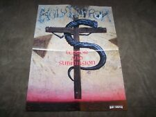 HOLY TERROR TERROR AND SUBNISSION / QUEEN LIVE KILLERS  POSTER