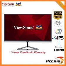 """24"""" ViewSonic VX2476-SMHD IPS LED Monitor Full HD 1080P Speaker HDMI DisplayPort"""