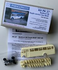 Paragon Kits. Bedford SB Duple Service Bus B42F 1957-60's Style. Kit Ref.PK 27.