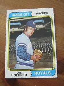 1974 OPC O PEE CHEE #493 Joe Hoerner - Kansas City Royals                    ZB1