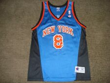 Vintage RETRO New York Knicks NY Latrell Sprewell Champion Jersey 44 RARE MINT
