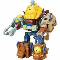 Plants VS Zombies Transformers Action Figure Toy Models 5in1 Mega Zombot Robot