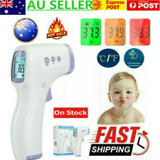 Digital LCD Non-contact Infrared Forehead Body IR Thermometer Temperature Gun