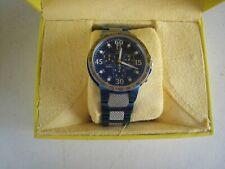 Invicta Men's Watch 4390 Metallic Blue Swiss Quartz WR 100M MIB #IN131
