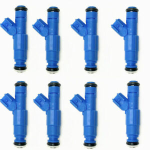 8 x Bosch Upgrade Fuel Injectors 0280158001 for 2003-2009 Ford E150 E250 5.4L