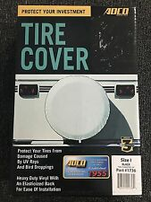 """Adco 1736 Black Spare Tire Cover Size I for 28"""" Diameter Tires"""