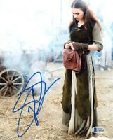 SOPHIE SKELTON SIGNED AUTOGRAPHED 8x10 PHOTO BRIANNA OUTLANDER RARE BECKETT BAS