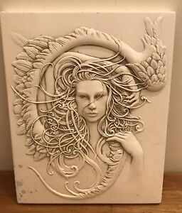Latex Mould for making this lovely Stunning Angel Plaque
