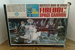 Major Matt Mason Firebolt Space Cannon/Mattel's Man In Space/With Box/Vintage