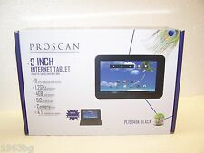 PROSCAN 9 INCH ANDROID 4.1 JELLY BEAN INTERNET TABLET 9PO-PLT9045K-Black