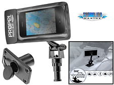 Phone & GPS Mount / Holder for Kayak or Boat Frees Up Your Hands for Fishing!