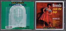 CD BRENDA LEE ROCK THE BOP 1995 RADIO ARCHIVES