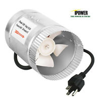 "iPower ETL Certified 4"" Booster Fan Inline Duct Vent Exhaust Intake Blower"