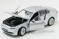 BMW 535i Saloon Silver, Welly 24026, scale 1:24, model adult boy gift