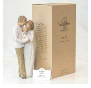 Schöne Figur von Willow tree .Schönes Geschenk für werdende Eltern21,5 cm...
