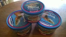Tropical Fish Food KING British Flake x 2 Pellet X 1 = 3 TOTAL