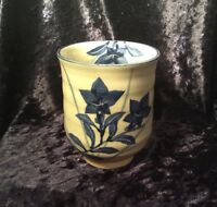 Lovely Vintage Japanese Hand Painted Ceramic Tea Cup, Makers Stamp At Base (#)