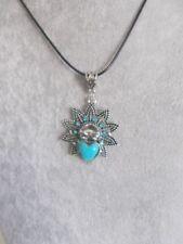 Tibetan Silver Turquoise Fashion Necklaces & Pendants