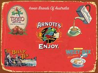 Tin Sign  Metal ``Australian Icons``