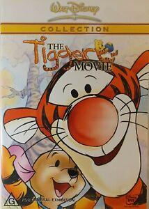 The Tigger Movie DVD R 4 Winnie The Pooh Disney Family Free Postage