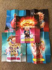 Garbage Pail Kids Gang Flashback Series 2 FB2 card poster set (5) Adam Bomb nice