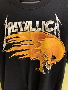 Vintage Metallica 1994 Live Sh*t Binge & Purge T-Shirt Summer Pushead Size XL