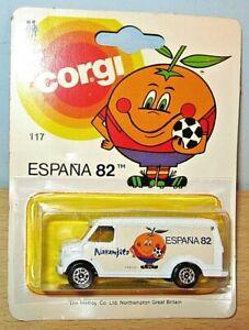 Corgi SPAIN 1982 WORLD CUP Chevrolet Van MOC 'Espana 82'