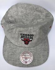 Mitchell and Ness Adults Unisex Chicago Bulls Baseball Cap CHIBUL Y477Z GRY