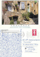 1996 VILLAGE HOUSE EN PROVENCE FRANCE COLOUR POSTCARD