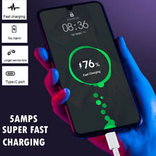 5A SuperFast USB Type-C USB C Mains Charger Cable Data Sync Lead For Phones Tabs
