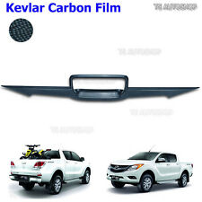 Black Kevlar Line Bowl Tailgate Accent Cover Fit Mazda Bt-50 Pro UTE 2012-2016