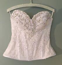 Pnina Tornai bridal corset, no skirt, hand-embellished