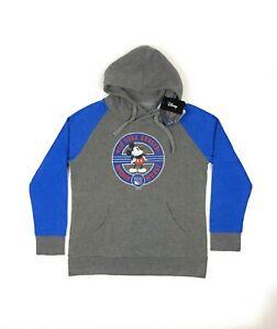 New York Rangers NHL Disney Mickey Mouse Fanatics Womens Gray XL Pullover Hoodie