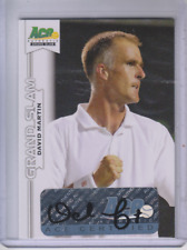 2013 Ace Authentic Grand Slam #BADM1 David Martin Autograph