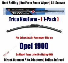 (Qty 1) Super Premium NeoForm Wiper Blade fits 1971-1975 Opel 1900 16160