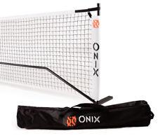 Onix Portable Steel Pickleball Net  Official Size Net System  Dual Mini Net too