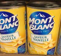 lot De 7 Boites Crèmes Saveur Vanille M'ont Blanc DLC Longue