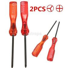 2X Practical Cross Tri-Wing Triangle Screwdriver Tool for GBA GBC NDS DSI Wii