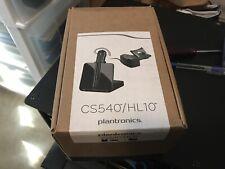 Plantronics CS540/HL10 Wireless Headset System - Black
