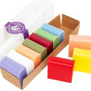 French Soaps - 10 x 30g Shea Butter Fragrances - Gift Pack - Savon de Marseille