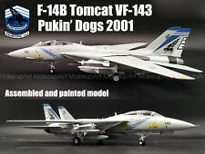 US F-14B Tomcat VFA-143 Pukin Dogs aircraft 1/72 diecast plane Easy model