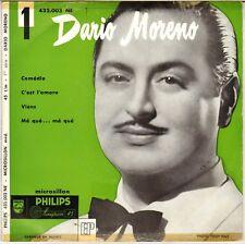 "DARIO MORENO ""COMEDIE"" 50'S EP  PHILIPS 432.003"