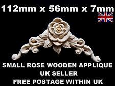 Shabby Chic Applique décoratifs en bois meubles greffe apposée vintage Moulage tiroir
